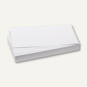 Franken Moderationskarten Rechteck, 205 x 95 mm, weiß, 500 Stück, UMZ 1020 09