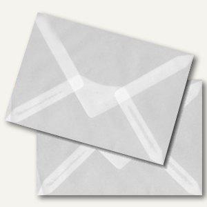Briefumschlag DIN C6, nassklebend 92 g/m², transparent-klar, 100 St., 1951440143