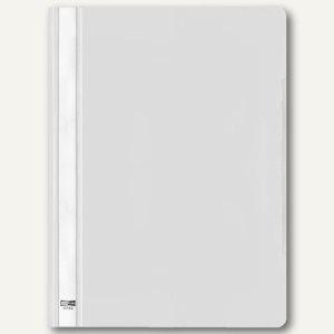 Veloflex Schnellhefter VELOFORM®, A4, PVC, glasklar/weiß, 25 Stück, 4742090