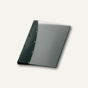 "Ringbuch "" Diamond"", DIN A4, PP, 2 D-Ringe Ø 20 mm, schwarz, 12 Stück, 1141480"