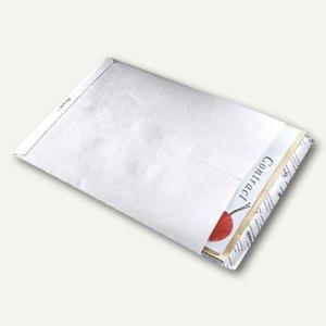 Versandtasche C4 ohne Fenster, haftklebend, reißfest, weiß, 100 Stück, 555024