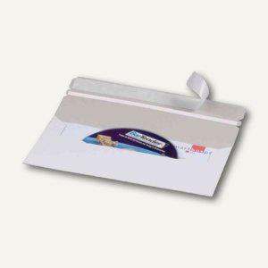 CD-Mailer 218 x 122 mm, mit Fenster, selbstklebend, weiß, 100 St., 230111025