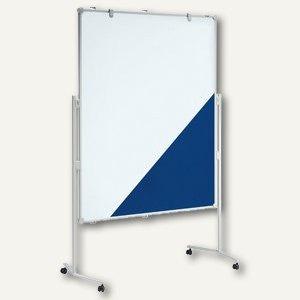 MAUL Moderationstafel MAULpro, 120 x 150 cm, Textil / Whiteboard, 6380482