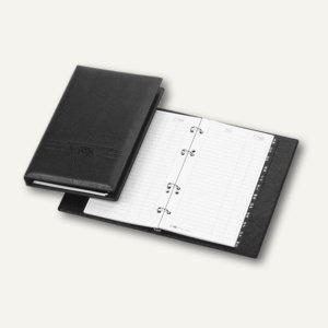 """Veloflex Telefonringbuch """" Exquisit"""", 145 x 225 mm, 4-Rund-Ringe, schwarz, 4150780"""
