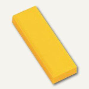Hebel Rechteckmagnet 53 FA, Haftkraft: 1 kg, 20 St./Btl., gelb, 6179113
