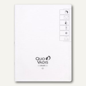 "Quo Vadis "" Pre 777"" Adress-/Telefonverzeichnis - 21 x 27 cm, Weißschnitt, 715020Q"