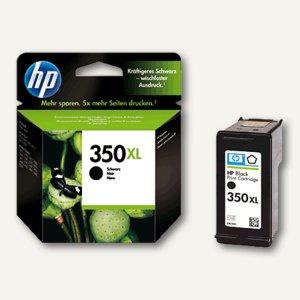 HP Tintenpatrone Nr.350XL, schwarz, CB336EE