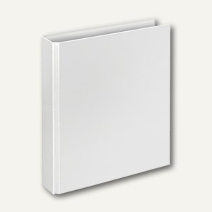 "Ringbücher "" Basic"", DIN A5, PP, 4 D-Ringe Ø 30 mm, weiß, 10 Stück, 4156090"