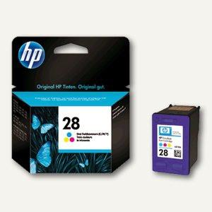 HP Tintenpatrone Nr.28, farbig, 8 ml, C8728AE