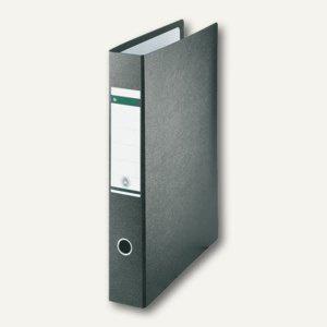 LEITZ Ordner für DIN A3 hoch, 448 x 360 mm, Rücken 80 mm, schwarz, 1072-00-00