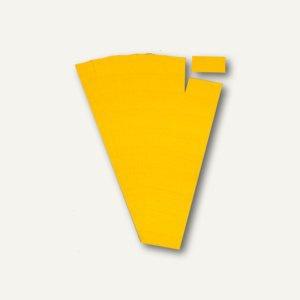 Ultradex Steckkarten für Planrecord Tafeln, 5 cm, gelb, 90er Pack, 140502