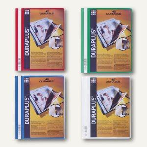 Durable Duraplus Angebotshefter DIN A4, farbig sortiert, 25 Stück, 2579-00