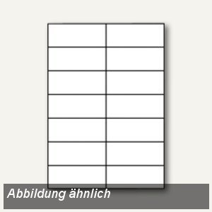 officio Etiketten, 105 x 48 mm, weiß, 12.000 Stück