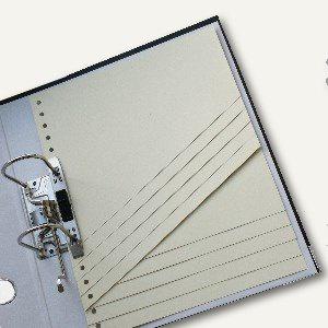 Staffeltrennblätter, 190g/m², 14-fache Unterteilung, 50 Pack a 100 Blatt, ST190