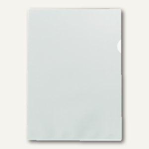 Aktenhüllen DIN A4, 140my, PP, geprägt, dokumentenecht, transparent, 100 Stück