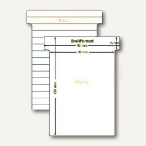 Ultradex T-Karten, liniert, Breitformat, weiß, 100 Stück, 541158 - Vorschau