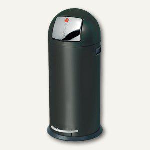 Hailo Tret-Abfallsammler KickMaxx 50, 50 Liter, Stahlblech, schwarz, 0850-569 - Vorschau