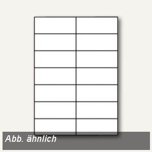 officio Etiketten, 52.5 x 29.7 mm, weiß, 4.000 Stück