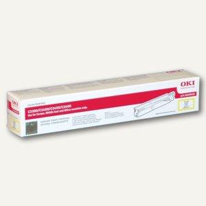 OKI Lasertoner für C3300/3400/3450/3600, ca. 1.500 Seiten, gelb, 43459433