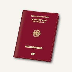 """Schutzhülle """" Document Safe®"""" ePass"""" - für Reisepass, 100 x 135 mm, rot, 3259800"""