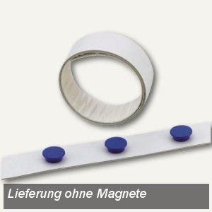 Durable Magnetband, selbstklebend, (L)5 m x (B)35 mm, weiß, 4715-02