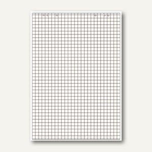 Flipchart-Block, Recyclingpapier, kariert/blanko, 5 Blöcke á 20 Blatt, 100050589 - Vorschau