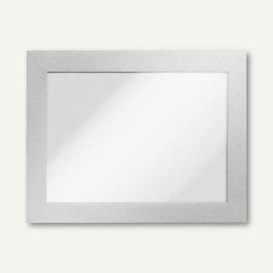 Durable Inforahmen DURAFRAME®, DIN A6, selbstklebend, silber, 2 Stück, 4870-23