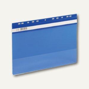 Durable Einhänge-Sichthefter Economy A4, Kunststoff, blau, 50 Stück, 2561-06