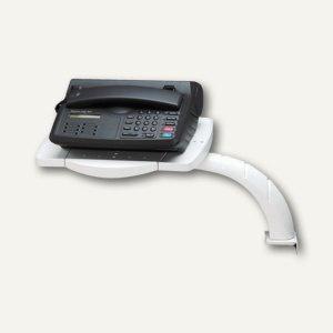MAUL Telefon-Schwenkarm, m. Multifunktions-Platte, grau, 8304282