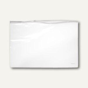 Gleitverschlußtasche, 400 x 268 mm, PVC, transparent, 100 Stück, 40416-10