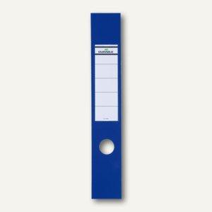 Selbstklebe-Ordnerrückenschilder Ordofix, 60 x 390 mm, blau, 40 Stück, 8090-06