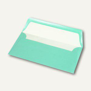 Briefumschläge mit Seidenfutter DL, 100g/m², karibik gerippt, 100 St., 164002174 - Vorschau