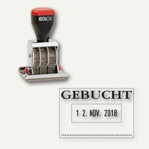 """Colop Textplatten-Datumstempel 04060/L """" Gebucht"""", 4200463002 - Vorschau"""