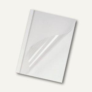 GBC Thermobindemappe DIN A4, Rücken 10 mm, weiß-matt, 100 Stück, IB370168