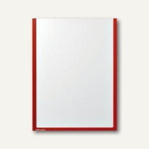 Ultradex Infotasche DIN A4, hoch, selbstklebend, rot, 5 Stück, 878705
