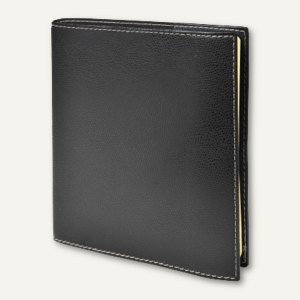 Executif Prestige Club Terminkalender - 16 x 16 cm, 1 Woche/2 Seiten, schwarz