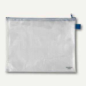 Veloflex Reißverschlusstasche, A4, PVC gewebeverstärkt, 10 Stück, 2704000