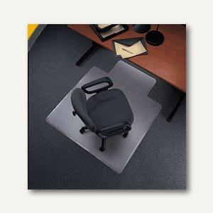 Bodenschutzmatte für Teppichböden, 120 x 150 cm, transparent, Polycarbonat