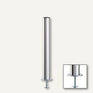TSS-Säule mit Bohrschraubbefestigung (Tisch), Aluminium, Länge: 445 mm