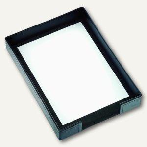 """Läufer """" Modena"""" Briefablage, glattes Rindsleder, 255 x 350 mm, schwarz, 35016 - Vorschau"""