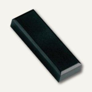 Hebel Rechteckmagnet 53 FA, Haftkraft: 1 kg, 20 St./Btl., schwarz, 6179190