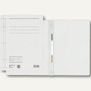 Rapid Schnellhefter DIN A4, Manilakarton 250 g/m², weiß, 25 Stück, 3000-00-01