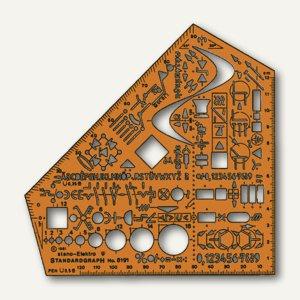 Standardgraph Schablone Stano-Winkel Elektro, 8191