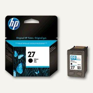 HP Tintenpatrone Nr.27, schwarz, 10 ml, C8727AE - Vorschau