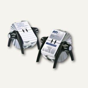 Durable Rotationskartei TELINDEX flip, schwarz, 2416-01