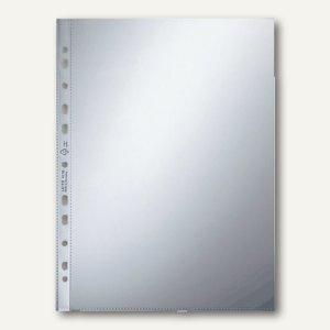 LEITZ Prospekthüllen DIN A4, PP 80my glasklar, oben offen, 100 Stück, 4770-00-02