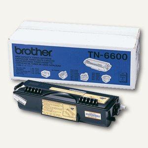 Brother Toner, ca. 6.000 Seiten, schwarz, TN6600