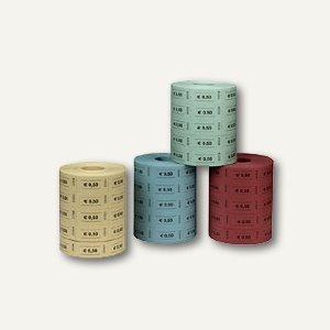 Herlitz Wertmarken 0, 50 Euro, einfarbig, 5 x 1.000 Stück, 10733350