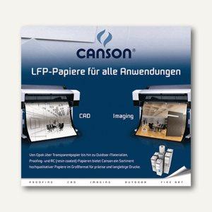 "Inkjet-Plotterrolle "" HiResolution PaperJet I"", 91.4cm x 46m, 100g/qm², weiß"
