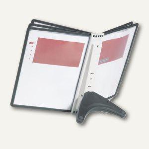 Durable Sichttafelständer SHERPA® SOHO, Tischfuß, TABLE 5, mit 5 Tafeln, 5540-01